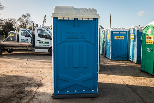 Portable Toilet Side View
