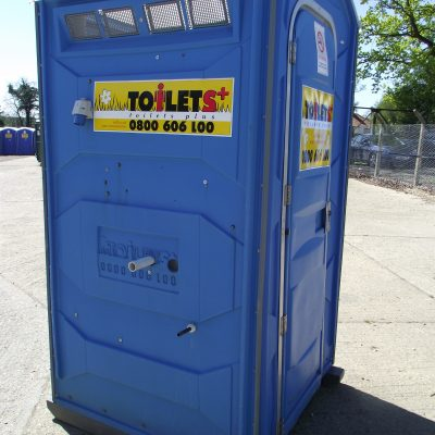 Portable Chemical Toilet Hire with Hot Water