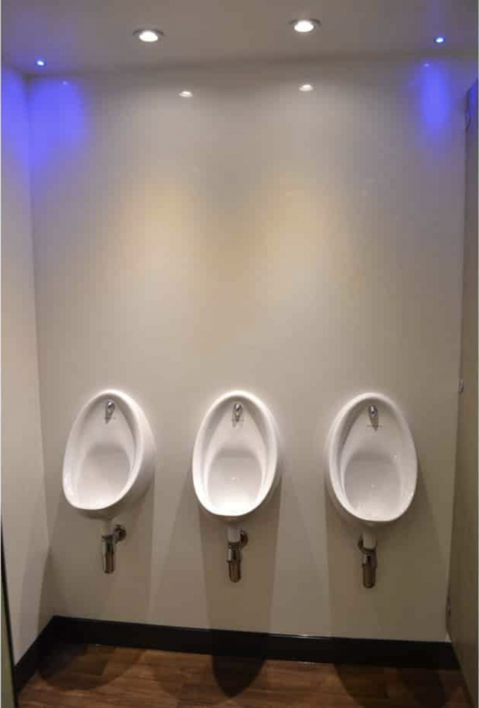mens luxury urinals