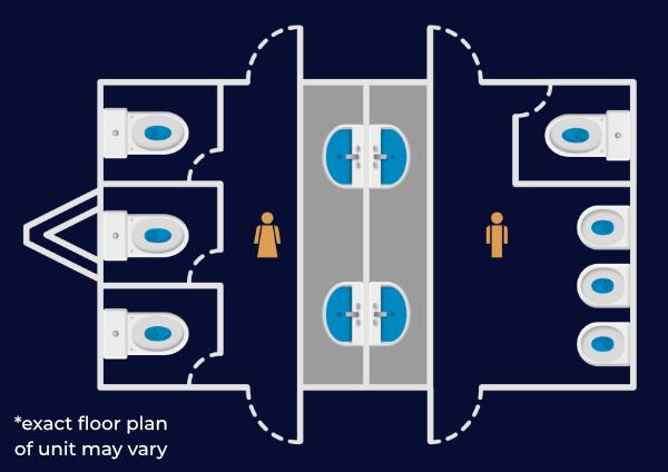 3+1 unit floorplan